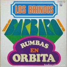 Discos de vinilo: LOS BRANDIS - BARBARO RUMBAS EN ORBITA - LP DE VINILO. Lote 270869663