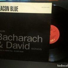 Discos de vinilo: DEACON BLUE – FOUR BACHARACH & DAVID SONGS MAXI SINGLE 1990 PEPETO. Lote 270872203