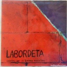 Discos de vinilo: LABORDETA. CANTES DE LA TIERRA ADENTRO. LP PORTADA DOBLE CON ENCARTE CREDITOS. Lote 270875448