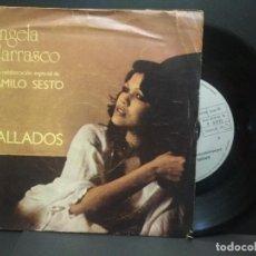 Disques de vinyle: ANGELA CARRASCO Y CAMILO SESTO - CALLADOS / DOS CUERPOS / SINGLE ARIOLA SPAIN 1978 PEPETO. Lote 270875503