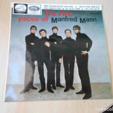 Discos de vinilo: MANFRED MANN - THE FIVE FACES OF -, EP, THERE´S NO LIVING WITHOUT YOUR LOVING + 3, AÑO 1966. Lote 270876233