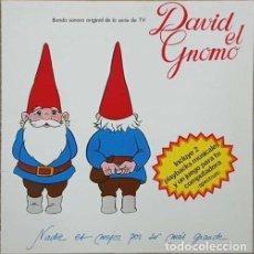 Discos de vinilo: DAVID EL GNOMO - LP DE VINILO DE LA SERIE DE TVE. Lote 270879663