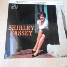 Discos de vinilo: SHIRLEY BASSEY, EP, I (WHO HAVE NOTHING) + 3, AÑO 1964. Lote 270881853
