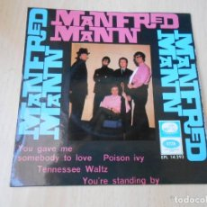 Discos de vinilo: MANFRED MANN, EP, YOU GAVE ME SOMEBODY TO LOVE + 3, AÑO 1966. Lote 270883983