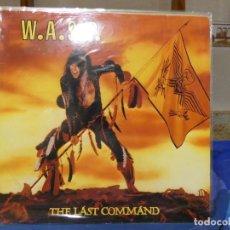 Discos de vinilo: LP WASP THE LAST COMMAND HEAVY METAL 1985 BUEN ESTADO ENCARTE ALGO ROTO. Lote 270884028