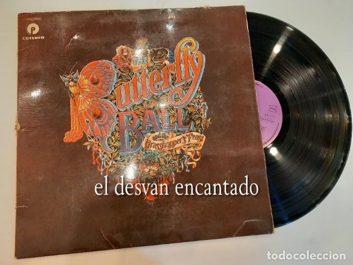 ROGER GLOVER AND GUESTS - THE BUTTERFLY BALL AND THE GRASSHOPPER'S FEAT - LP 1976 (Música - Discos de Vinilo - EPs - Pop - Rock Internacional de los 70)