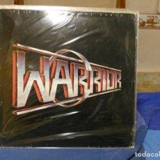 Discos de vinilo: LP HEAVY METAL WARRIOR FIGHTING FOR THE EARTH TAPA BIEN DISCO MUY BIEN, CON ENCARTE. Lote 270885928