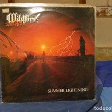 Discos de vinilo: LP WILDFIRE SUMMER LIGHTNING 1984 BUEN ESTADO GENERAL. Lote 270886973