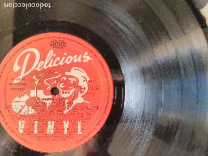 Discos de vinilo: TONE LOC: LOC ED AFTER DARK - LP. DELICIOUS VINYL 1989 - Foto 2 - 270891283