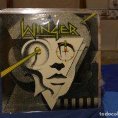 Discos de vinilo: LP HEAVY METAL WINGER HOMONIMO VENEZUELA 1988 MUY BUEN ESTADO GENERAL. Lote 270892123