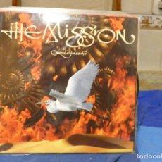 Discos de vinilo: LP ESPAÑA 1990 THE MISSION CARVE INSANE MUY BUEN ESTADO GENERAL. Lote 270893278