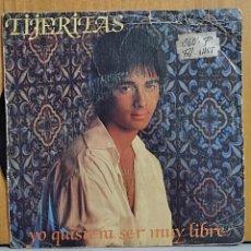 Discos de vinilo: TIJERITAS. SINGLE. YO QUISIERA SER MUY LIBRE. A ESA MUJER. CBS. 1983.. Lote 270898078