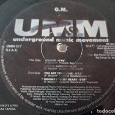 """Discos de vinilo: G.M. - THE GM EP (12""""). Lote 270906123"""