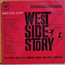 Discos de vinilo: WEST SIDE STORY BSO EP 45 RPM NATALIE WOOD L BERNSTEIN CBS ESPAÑA 1963. Lote 270909928