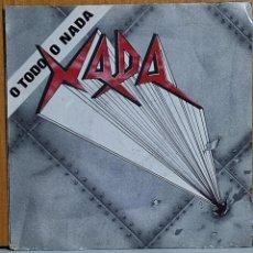 Discos de vinilo: XADA – O TODO O NADA. Lote 270910943