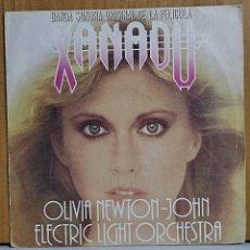 Discos de vinilo: XANADU. OLIVIA NEWTON-JOHN. BANSA SONORA ORIGINAL DE LA PELÍCULA.NÚMERO UNO EN. Lote 270911423
