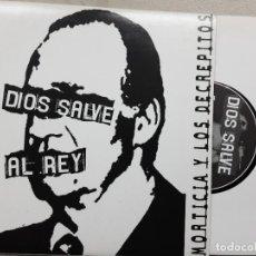 Discos de vinilo: EP MORTICIA Y LOS DECRÉPITOS, DIOS SALVE AL REY,LA TIERRA ESTA LLENA..., MI GRAN DEBILIDAD +1. Lote 270920838