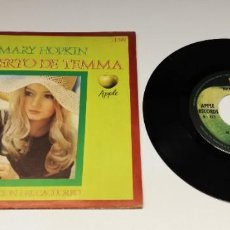 Discos de vinilo: 0621- MARY HOPKIN EL PUERTO DE TEMMA - SINGLE VINILO POR VG DIS VG+. Lote 270927493