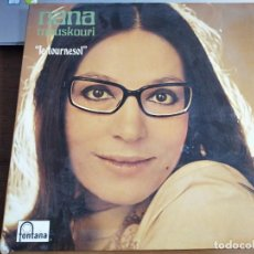 Discos de vinilo: NANA MOUSKOURI – LE TOURNESOL SELLO: FONTANA – 6399 002. LP. 1970. VG++ / VG++. Lote 270940333