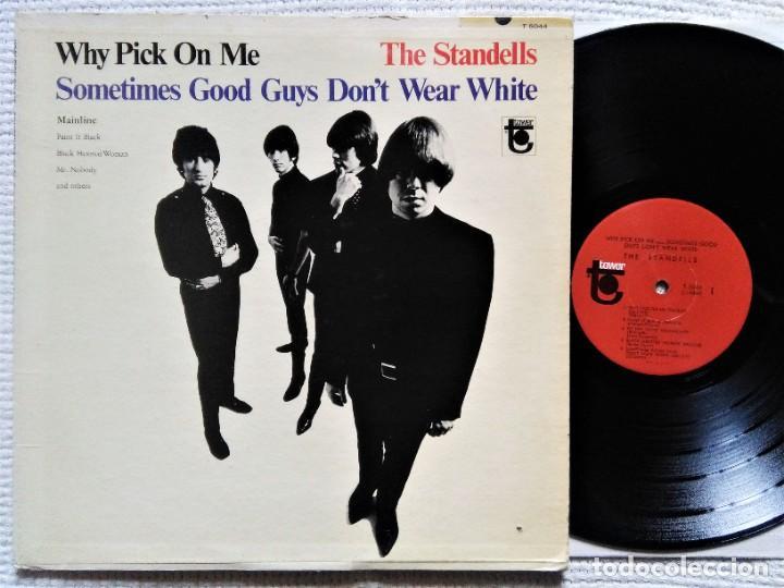 """THE STANDELLS - """" WHY PICK ON ME """" LP 1ST PRESSING 1966 USA MONO (Música - Discos - LP Vinilo - Pop - Rock Internacional de los 50 y 60)"""