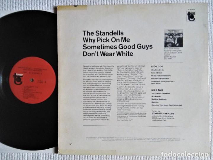 "Discos de vinilo: THE STANDELLS - "" WHY PICK ON ME "" LP 1ST PRESSING 1966 USA MONO - Foto 2 - 270944298"