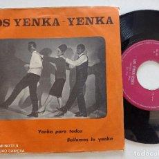 Discos de vinilo: LOS YENKA YENKA - YENKA PARA TODOS - SINGLE ZAFIRO 1965. Lote 270944903