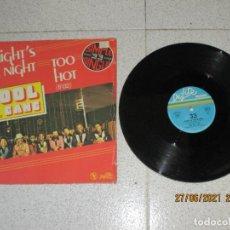 Discos de vinilo: KOOL & THE GANG - TOO HOT - MAXI - FRANCIA - DE-LITE RECORDS - IBL -. Lote 270949463