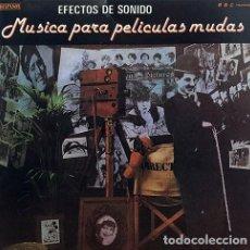 Discos de vinilo: EFECTOS DE SONIDO VOL 22 * VINILO * MÚSICA PARA PELÍCULAS MUDAS SPAIN 1984. Lote 270953993