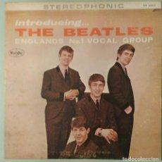 Discos de vinilo: THE BEATLES - LP INTRODUCING THE BEATLES (VEE JAY, USA). Lote 270964598