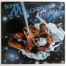 Discos de vinilo: BONEY M. * LP VINILO * NIGHTFLIGHT TO VENUS * ESPAÑA 1978. Lote 270966103