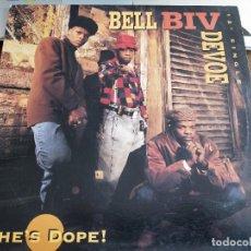 """Discos de vinilo: BELL BIV DEVOE – SHE'S DOPE! SELLO: MCA RECORDS – MCA 12-54056. (12"""").VINILO COMO NUEVO.MINT / VG+. Lote 270970078"""