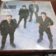 Disques de vinyle: LP THE PRETENDERS LEARNING TO CRAWL ALGUN TOQUECILLO EN LOMO VINILO CORRECTISMO. Lote 270967368