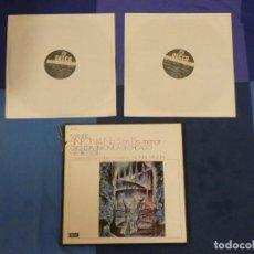 Disques de vinyle: CAJA 2 LPS Y LIBRETILLO LOMO ALGO PELADO DISCOS BIEN MAHLER SINFONIA 5 EN DO MENOR GEORG SOLIT. Lote 270981443