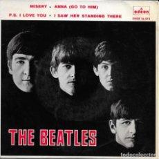 Discos de vinilo: THE BEATLES MISERY. Lote 270987828