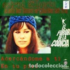 """Discos de vinilo: ASTRUD GILBERTO - ACERCANDOME A TI / EN TU PIEL (7"""", SINGLE) LABEL:ACCIÓN CAT#: AC-10.023. Lote 270996863"""