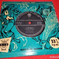 Discos de vinilo: COBLA MARAVELLA PAULINET/MARGARIDA SARDANISTA/LA MARE DE DEU +3 EP 7'' 1961 CID SARDANA. Lote 271022668