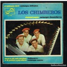 Discos de vinilo: LOS CHIMBEROS - LUCERO DE MIS NOCHES +3 - EP 1973 - SOLO CARATULA SIN DISCO. Lote 271035023
