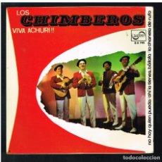 Discos de vinilo: LOS CHIMBEROS - NO HAY QUIEN PUEDA + 3 - EP 1973. Lote 271036713