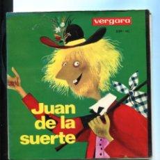 Discos de vinilo: JUAN DE LA SUERTE. VERGARA CUENTO INFANTIL SP. Lote 271037993