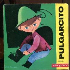 Discos de vinilo: PULGARCITO. VERGARA. CUENTO INFANTIL SP. Lote 271038893