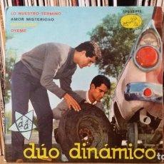 Discos de vinilo: ** DÚO DINÁMICO - LO NUESTRO TERMINÓ / DESILUSIÓN + 2 - EP AÑO 1963 - LEER DESCRIPCIÓN. Lote 271039828