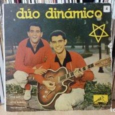 Discos de vinilo: ** DÚO DINÁMICO - RECORDÁNDOTE / ALONE + 2 - EP AÑO 1959 - LEER DESCRIPCIÓN. Lote 271040473