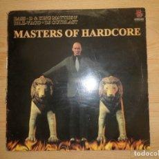 Discos de vinilo: MASTERS OF HARDCORE - BASS D & KING MATTHEW DR. Z ... MAXI-SINGLE - DISPONGO DE MAS DISCOS DE VINILO. Lote 271048813