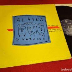 Discos de vinilo: ALASKA Y DINARAMA BAILANDO +2 12'' MX 1988 HISPAVOX MOVIDA POP. Lote 271062803