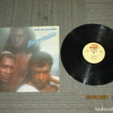 Discos de vinilo: IMAGINATION - JUST AN ILLUSION - MAXI - SPAIN - RED BUS RECORDS / MOVIEPLAY - REF 05.3320/7 LV -. Lote 271074658