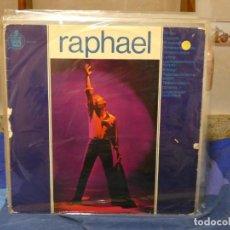 Discos de vinilo: LP RAPHAEL HOMONIMO 1965 ESTADO NOTABLEMENTE BUEN O DE VINILO. Lote 271113453