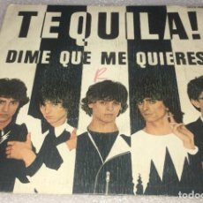 Disques de vinyle: SINGLE TEQUILA - DIME QUE ME QUIERES - DEJENME DORMIR - ZAFIRO 00X469 - PEDIDO MINIMO 7€. Lote 271117938