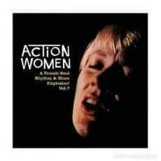 Discos de vinil: EP VARIOS ACTION WOMEN VOL.7 A FEMALE SOUL RHYTHM&BLUES EXPLOSION. Lote 271121723