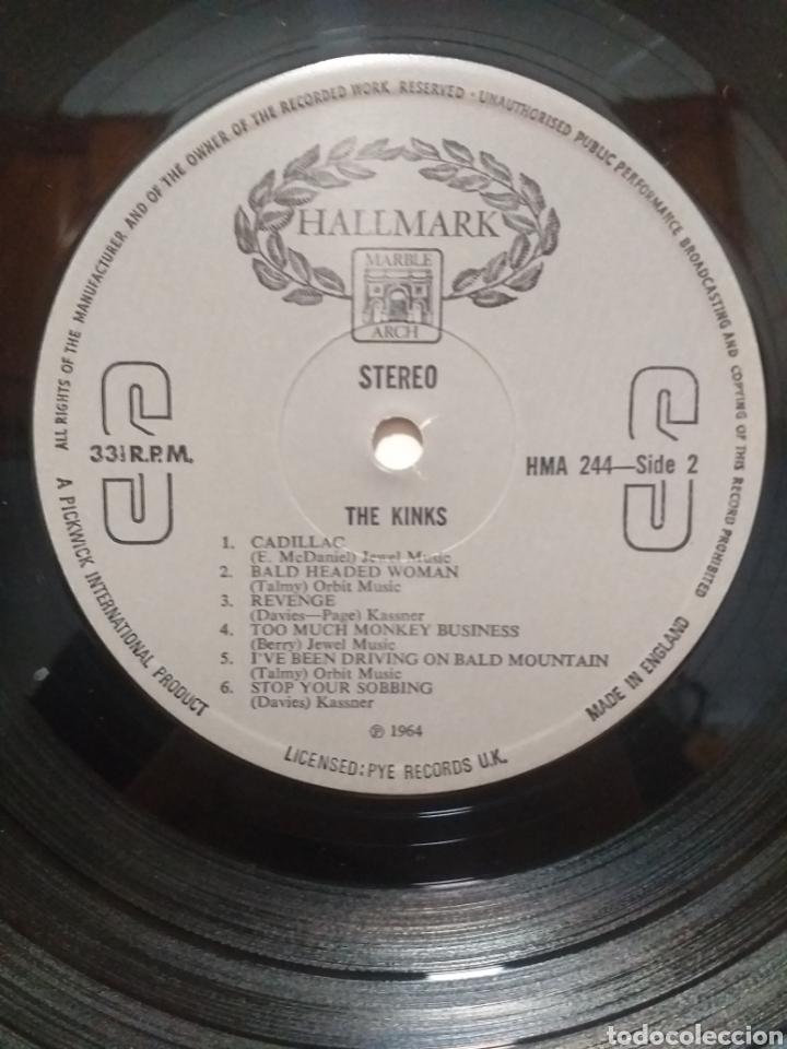 Discos de vinilo: LP VINILO THE KINKS 1964 ( HALLMARK ) U.K MADE IN ENGLAND - Foto 6 - 271127378