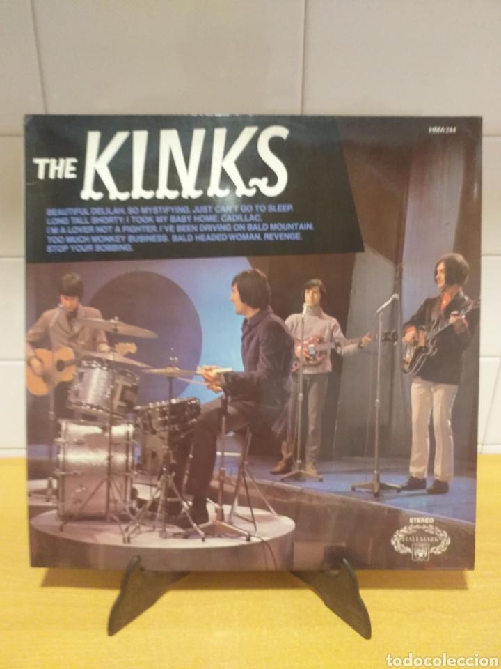 LP VINILO THE KINKS 1964 ( HALLMARK ) U.K MADE IN ENGLAND (Música - Discos - LP Vinilo - Pop - Rock Internacional de los 50 y 60)